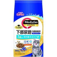 メディファス 室内猫 毛玉ケアプラス 1歳から チキン&フィッシュ味(450g*6袋)