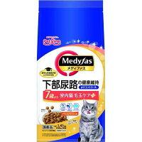 メディファス 室内猫 毛玉ケアプラス 7歳から チキン&フィッシュ味(235g*6袋)