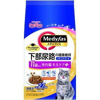 メディファス 室内猫 毛玉ケアプラス 11歳から チキン&フィッシュ味(450g*6袋)