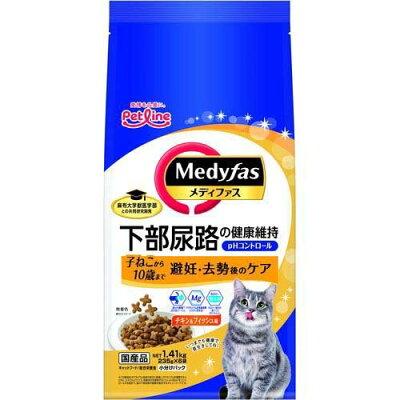 メディファス 避妊・去勢後のケア 子ねこから10歳まで チキン&フィッシュ味(235g*6袋)