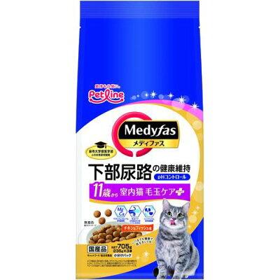 メディファス 室内猫 11歳から チキン&フィッシュ味(235g*3袋入)