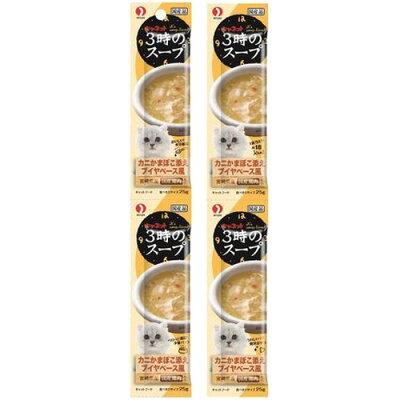 キャネット 3時のスープ カニかまぼこ添え ブイヤベース風(25g*4パック)