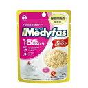 メディファス ウェット 15歳から 下部尿路の健康ケア まぐろと若鶏ささみ 60g