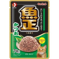 キャネット 魚正パウチ かつお(70g)