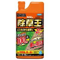 フマキラー カダン除草王 ザッソージエース 除草剤液剤タイプ 雨に強い(1L)