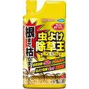 フマキラー 虫よけ除草王プレミアム 根まで枯らして虫よけもできる除草剤 1L
