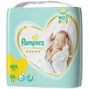 パンパース おむつ はじめての肌へのいちばん テープ ウルトラジャンボ 新生児(84枚入)