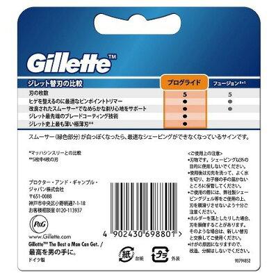 ジレット プログライドマニュアル 替刃8B(8コ入)