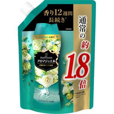 レノア ハピネス 香り付け専用ビーズ アロマジュエル エメラルドブリーズ 詰替 特大(805mL)
