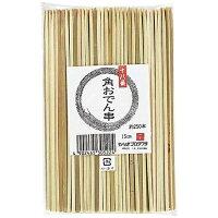 やなぎプロダクツ 竹製 十八番角おでん串 B-322 15cm 2 DOD0102