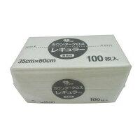 やなぎプロダクツ カウンタークロス レギュラー 100枚入 ホワイト KT-026 JKL9204