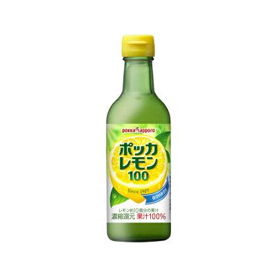 ポッカサッポロフード&ビバレッジ 300ml ポッカレモン100