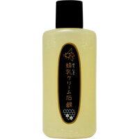 蜂乳 クリーム石鹸 お徳用 180ml
