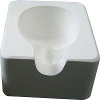 パジコ 人形顔型 石膏 NO.3(303663)