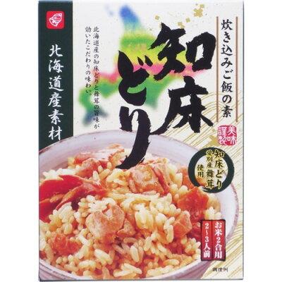 北海道素材 炊き込みご飯の素 知床どり(173g)