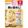 ピジョンベビーフード 食育レシピ 鯛の釜めし(80g)