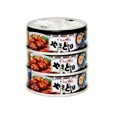 ホテイフーズコーポレーション ホテイやきとりガーリックペッパー味3缶S75g×3