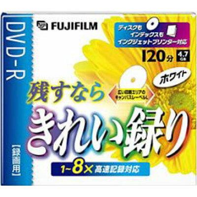 FUJI FILM ビデオ用DVD-R VDRP120H WT 8X