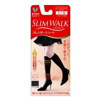 スリムウォーク スレンダーショート ブラック ダイヤ柄 S~Mサイズ(1足)