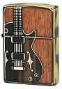 ZIPPOジッポー  オイルライター NO200 ANTIQUE Guitar ブラス 1201S443