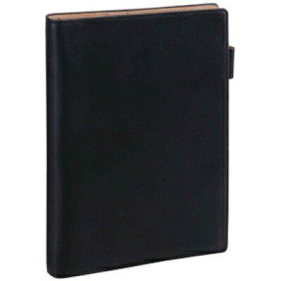 A5サイズ システム手帳(リング径15mm) ダ・ヴィンチ グランデ アースレザー ブラック JDA154 B