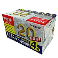 maxell オーディオテープ UR-20L 4P
