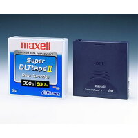 maxell Super DLTtape2 データカートリッジ 記憶容量(300GB/圧縮時600GB) 1巻パック /SDLT2/2100 XJ B