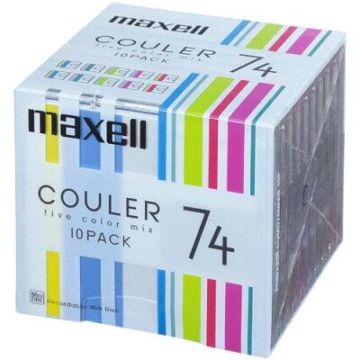 maxell 音楽用 MD CUMD74MIXB.10P