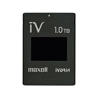 maxell カセットハードディスク iV(アイヴィ) M-VDRS1T.E.BK