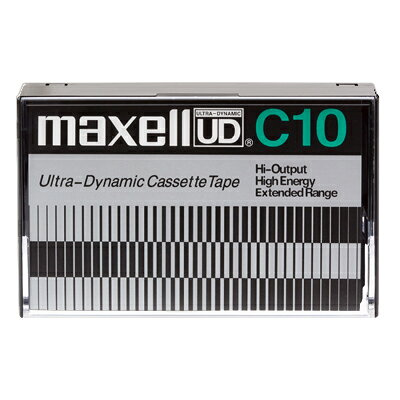 maxell 復刻版 カセットテープ UD C10