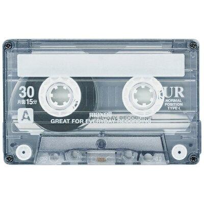 マクセル 音楽用テープ 30分 4巻 UR-30M 4P(1セット)