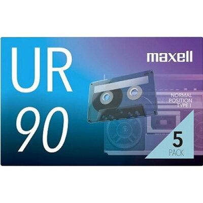 maxell カセットテープ UR-90N 5P