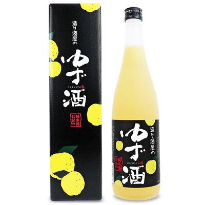 会津ほまれ 造り酒屋のゆず酒 720ml