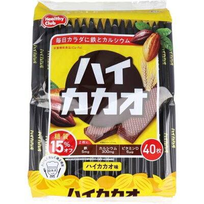 ハイカカオウエハース ハイカカオ味(40枚入)