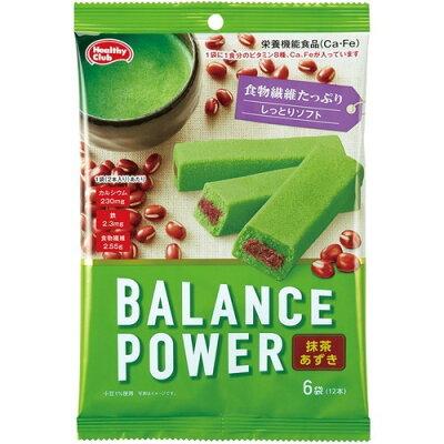 ヘルシークラブ バランスパワー 抹茶あずき(2本*6袋入)