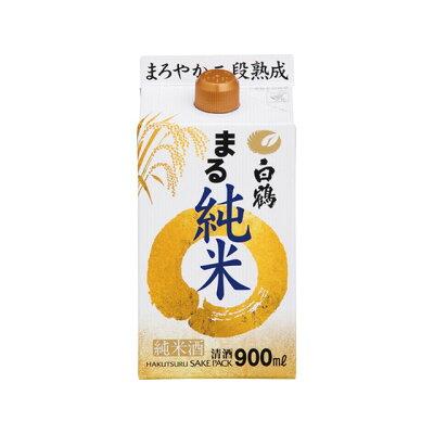 白鶴酒造 白鶴 サケパック まる純米