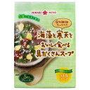 ひかり味噌 海藻と寒天をおいしく食べる具だくさんスープ 5食