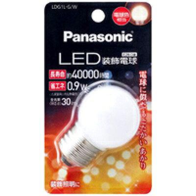 LED装飾電球0.9W 電球色相当 LDG1LGW(1コ入)