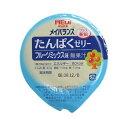 明治 メイバランスたんぱくゼリー フルーツミックス味 58gX24