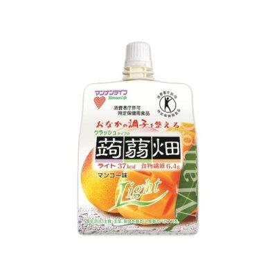 クラッシュタイプの蒟蒻畑ライト マンゴー味(150g)