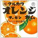丸川製菓 オレンジフーセンガム 4粒