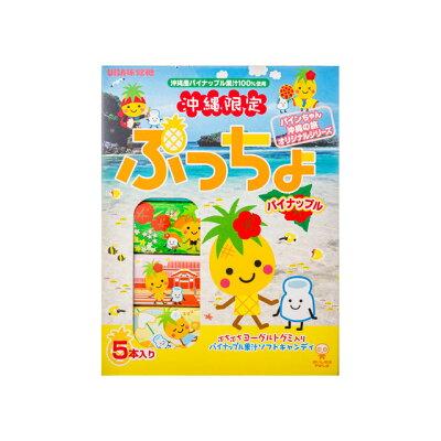 UHA味覚糖 沖縄限定 ぷっちょスティックパイン 5本