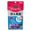 グミサプリ 鉄&葉酸 20日分(40粒)