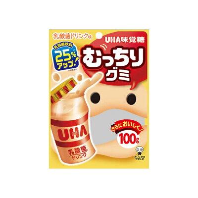 UHA味覚糖 むっちりグミ 乳酸菌ドリンク 100g