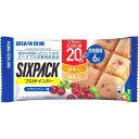SIXPACK プロテインバー クランベリー味(40g)