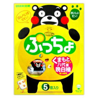 UHA味覚糖 九州限定 ぷっちょスティック 晩白柚 10粒X5本