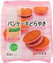 丸京製菓 パンケーキどらやき いちご風味 6個