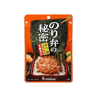 三島食品 のり弁の秘密 かつおふりかけ 辛子明太子風味 20g