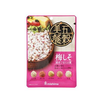 三島食品 五穀美餐 梅しそ 24g