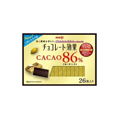 明治 チョコレート効果カカオ86%26枚入り